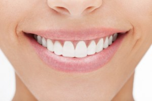 Porcelain veneers cover unsightly imperfections.