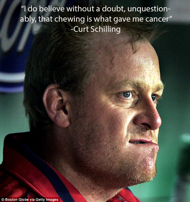 curt schilling chewing tobacco